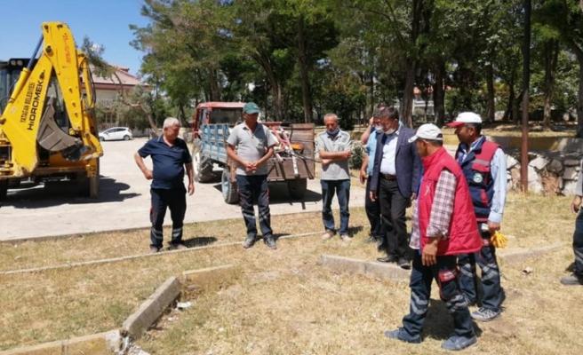 Yatağan Belediyesi, yaz hazırlıklarını sürdürüyor