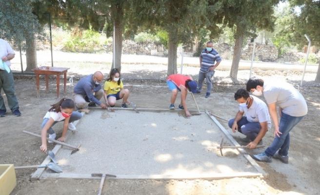 BİLSEM öğrencileri, Stratonikeia'da kazı yaptı