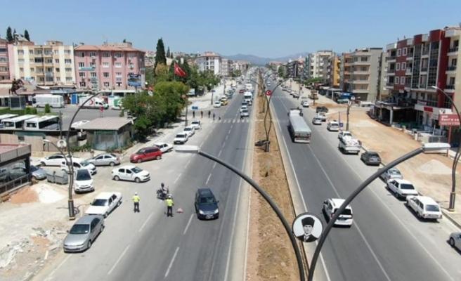 Gazi Mustafa Kemal Atatürk Bulvarı'nın EDS'si için top büyükşehirde
