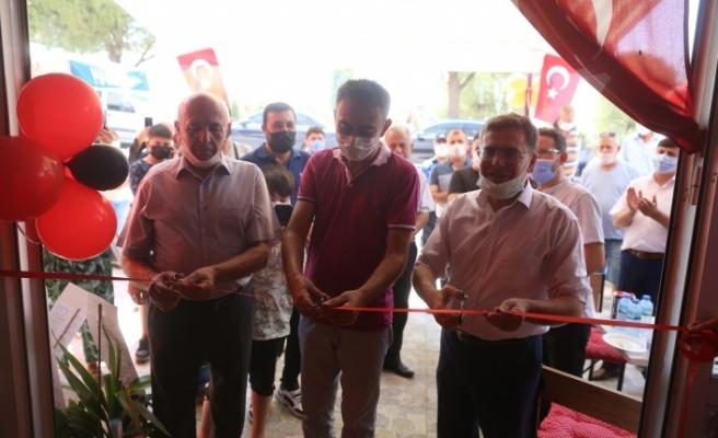 Cansın Restoran, davul-zurna eşliğinde açıldı