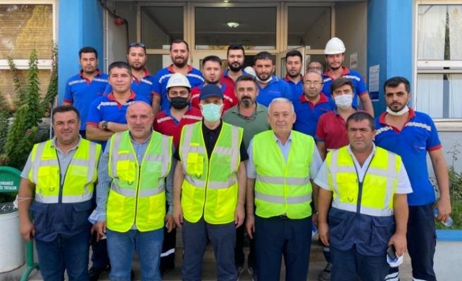 Atalay'dan Yeniköy ve Kemerköy'e 'geçmiş olsun' ziyareti