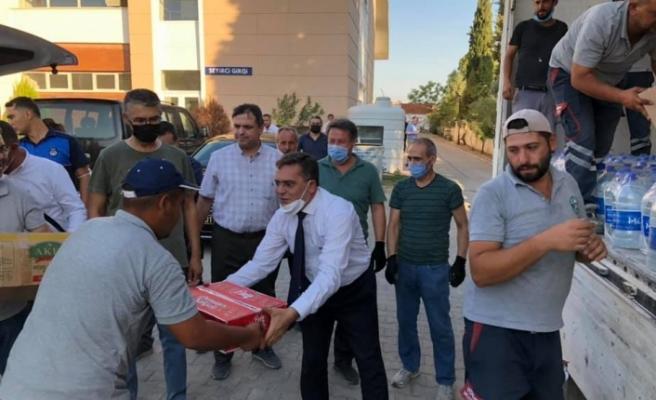 Yatağan'dan Sinop'a destek ve yardım tırı!