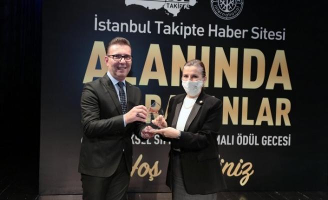 """""""ALANINDA İZ BIRAKAN YÖNETİCİ"""" ÖDÜLÜ SAHİBİNİ BULDU"""