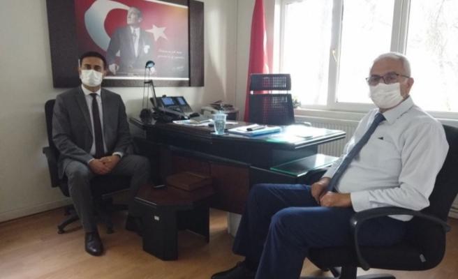 """Başsavcı Çetin'den """"Yeni Eğitim Öğretim Yılı"""" Hayırlı Olsun Ziyareti"""