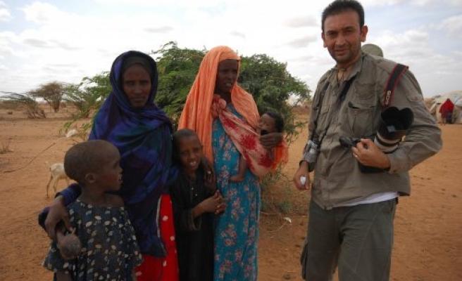 KENYA ve SOMALİ'DE YAÅžANAN AÇLIÄžI GÖRÜNTÜLEDİ