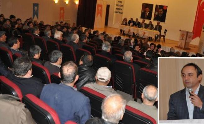 """AK Parti İl Başkanı Küreci: """"Bu kadar seyrettikleri yeter diye düşünüyorum"""""""