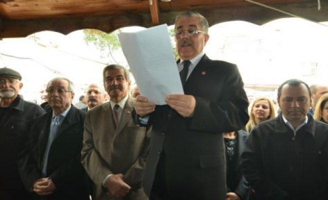 Ali Irgat, CHP'den aday adaylığını açıkladı