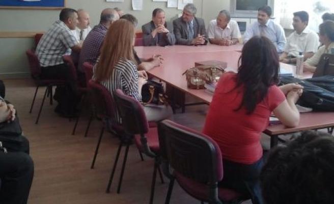 Bakanlık Yetkilileri Gazi Anadolu Lisesi'nde