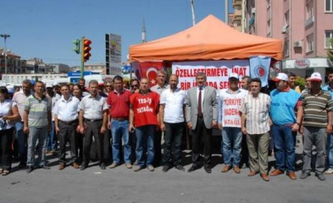 Başkan Işık'tan imza kampanyasına destek