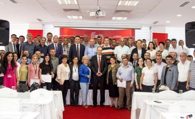 BİK'in valilik personeline yönelik eğitimi sona erdi