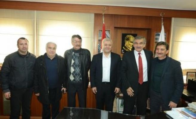 CHP Parti Meclisi Üyesi Özkan, Başkan Işık'ı ziyaret etti