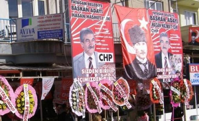 CHP Seçim Bürosu Açılışı Yarın