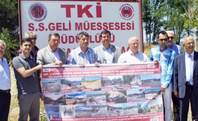 CHP'den Salihpaşalar Tepkisi