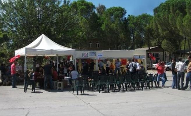 Direniş Çadırı 200'üncü Gününde