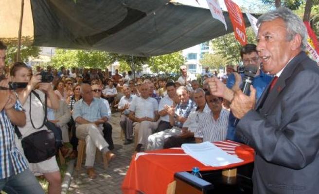 DR. ALİ ARSLAN, BÜYÜKŞEHİRADAY ADAYLIĞINI AÇIKLADI