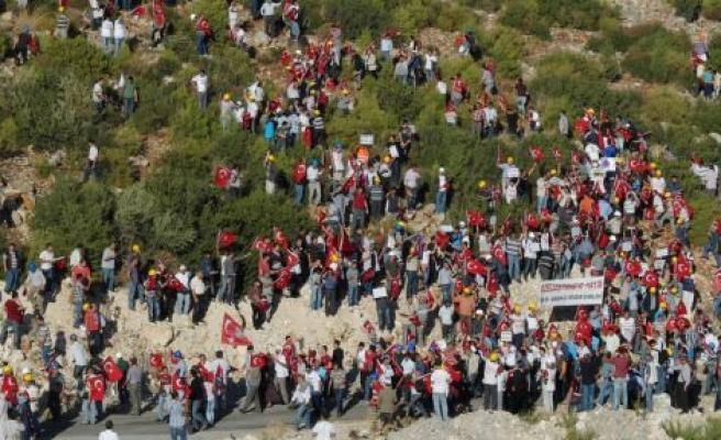 Enerji ve Maden işçileri dağa çıktı