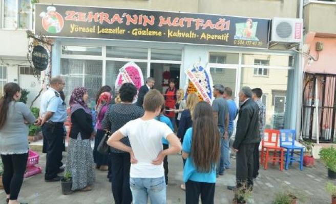 Ev hanımı mutfağını halka açtı: Zehra'nın Mutfağı