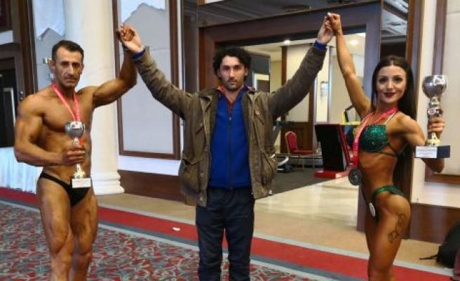 Fitness ve vücut geliştirmede Muğla'ya 2 Türkiye ikinciliği