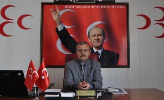 """GÖKA: """"TÜRK MİLLETİ VARDIR VE VAR OLACAKTIR"""""""