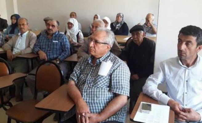 Hacı adaylarının eğitimi tamamlandı