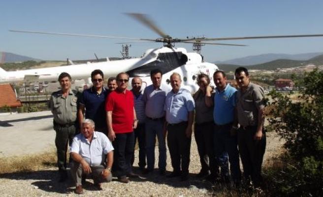 Helikopterle Arazi Kontrolü