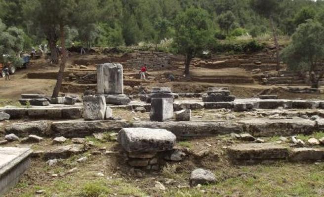 İki Bin Yıllık Agustus Tapınağı Gün Yüzüne Çıkarılıyor