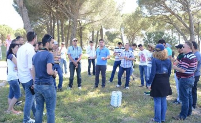 Kastamonulu Öğrenciler Fıstık Çamını İnceledi