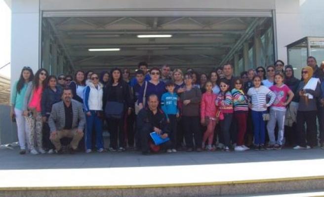Kıbrıs İlkokulu 4 günlük İstanbul gezisinden döndü