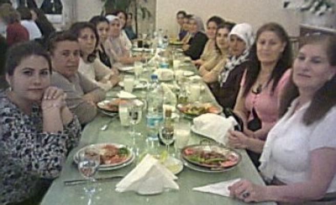 Kursiyerlerden Yemekli Veda