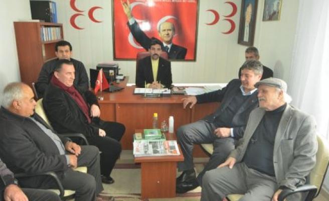 MHP İl Başkan Adayı Yavuz Kurtalan, Yatağan'da