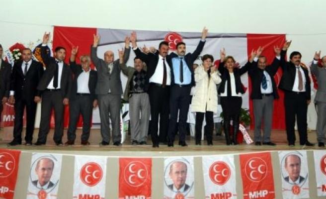 MHP İlçe Başkanlığı'na Serkan Uzun seçildi