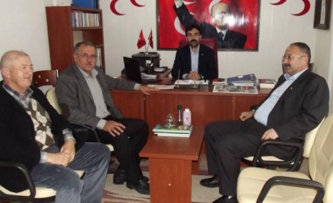 MHP'li Kıvrak'tan Uzun'a ziyaret
