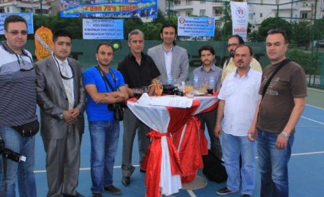 Muğla Tenis Kulübünden gazetemize ödül