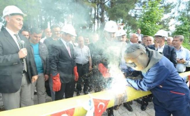 Muğla'da ilk doğalgaz Yatağan'a verilecek