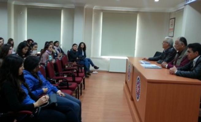 Öğrencilerden Santrale ve Kömür Sahasına Gezi