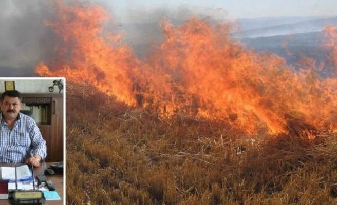 Orman İşletme Anız Yangınları Uyarısında Bulunacak