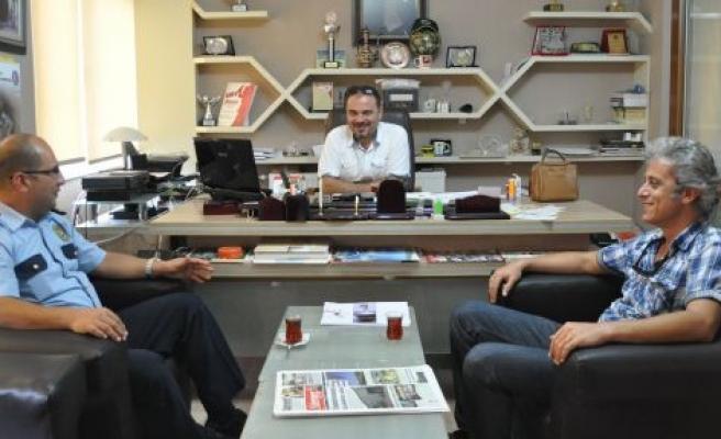Özher'den Gazetemize ziyaret