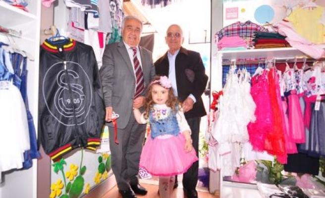 Tanem Kids Çocuk Giyim Mağazası Açıldı