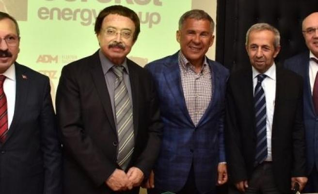 Tataristan Cumhurbaşkanı Minnihanov, Yatağan'da