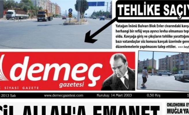 """""""TEHLİKE SAÇIYOR"""" DEMİŞTİK!.."""