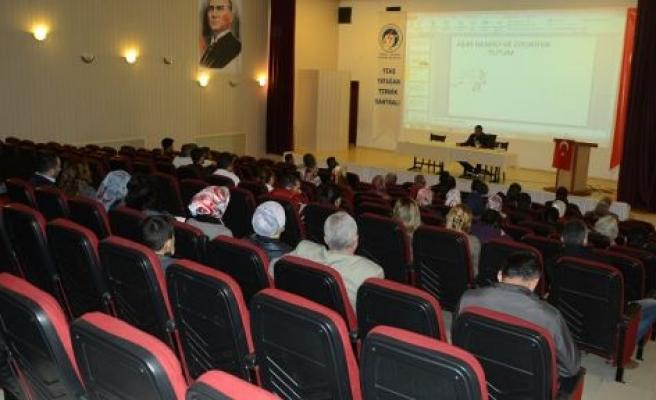 TGKK Yatağan'daki ilk konferansını düzenledi