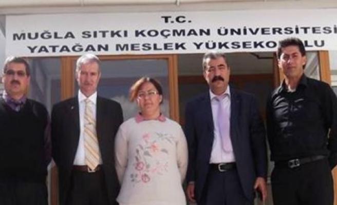 Türk Eğitim-Sen'den YMYO'na Ziyaret