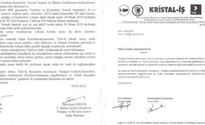Türk-İş Başkanlar Kurulu'na mücadele çağrısı