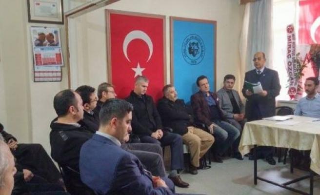 Türk Ocağı Muğla Şubesi'nde Akar dönemi
