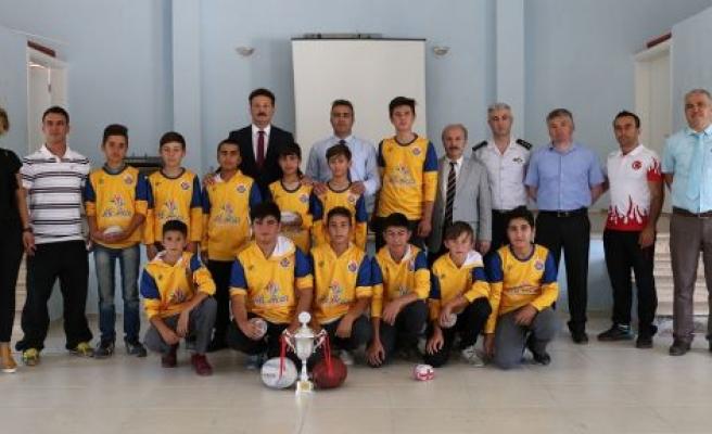 Türkiye şampiyonlarını ziyaret ettiler