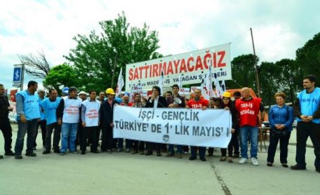 Türkiye'de 1'lik Mayıs'ı!