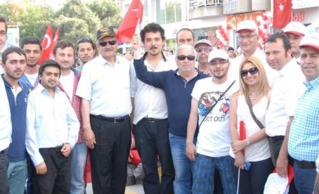 Yatağan CHP Tam Kadro Aydın'daydı