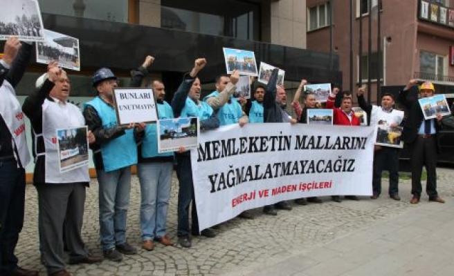 Yatağan işçileri İÇTAŞ'ı uyardı: Yağmaya izin yok!