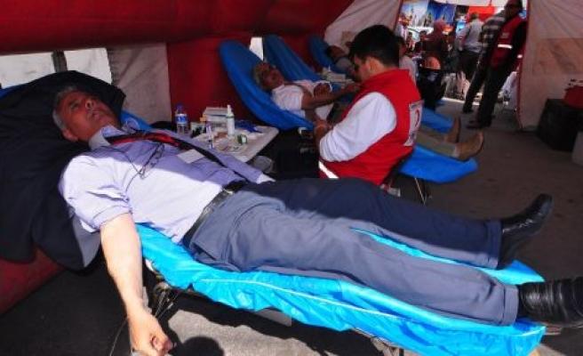 Yatağan Müftülüğü'nden Kan Bağışı