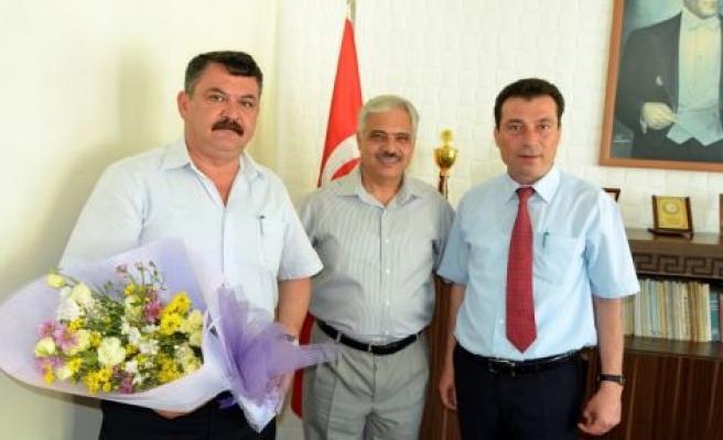 Yatağan Orman İşletme Müdürü Mehmet İşçi görevine başladı